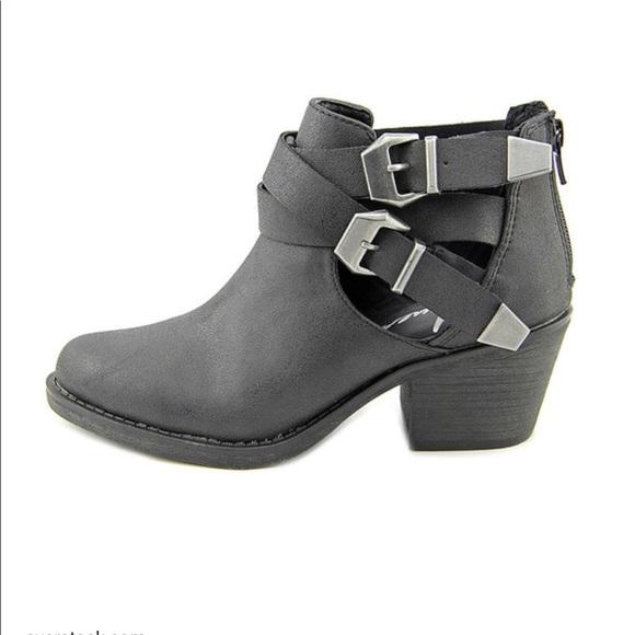 b0cf1c3109d36 American Rag Shoes | Womens Gray Joeyy Ankle Booties | Poshmark